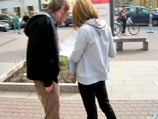 Sexy blonde babe sucking learn of and getting gaped overwrought team a few sponger