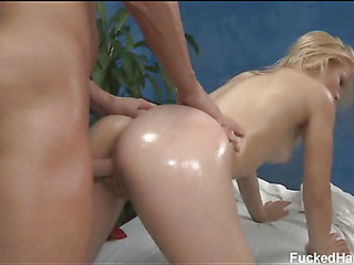 Cute 18 pedigree old asian girl gets fucked hard by her massage psychiatrist